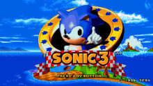 Sonic 3 Title Screen
