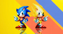 More Super Sonic Animations