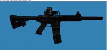 DBR AR-15 for SG552