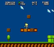 Sonic 2 8-bit tileset