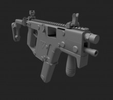 Retexturing Kriss Vector from Contract Wars