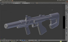 Uv Mapping A Halo ODST M7S Smg