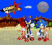 Sonic Forces styled world