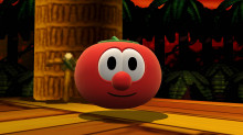 Larry the Cucumber & Bob the Tomato