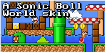 A sonic Boll world skin (unoffical name)