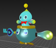Chao over Bowser Jr. WIP (Resumed)