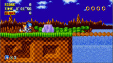 Green Hill Act 2 from Sonic 1