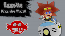 Eggette over Bowser Jr