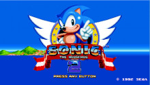 Sonic 2 Title Screen Mod