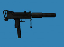 L4D2 alike Silenced Submachine Gun
