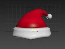 Santa Hat Over Captain's Hat