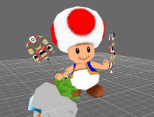Toad over Villager