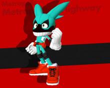 Sonic Forces Deku(BnHA) Mod