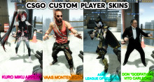 CSGO Custom player skins set
