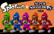 Splatoon Mario 3ds Version