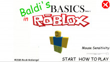 Baldi`s Basics In Roblox. (DL Available)