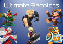 Super Smash Bros Ultimate Renders Recolors