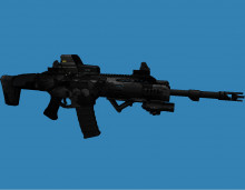 Brain's Prototype MSBS Rifle Retextured