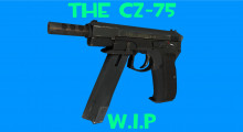 The CZ-75A (CS:GO Port)