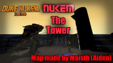 Duke Nukem Third Map (Nukem: The Tower)
