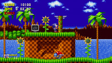 Sonic 1 Aesthetic