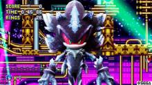 Mephiles as Metal Sonic Plus