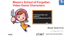 Mama's School of Forgotten Video Game characters