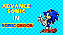 Advance Sonic in Sonic Chaos