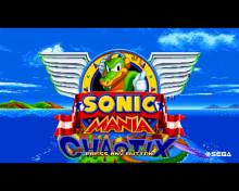 Sonic Mania Chaotix