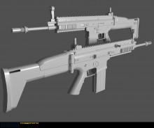 FN SCAR. Done