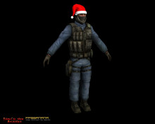 CT's With Santa Hats - GIGN