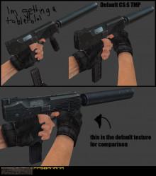 Default TMP; new texture