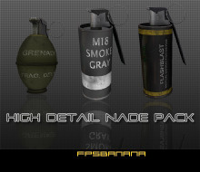 High Detail Nade Pack