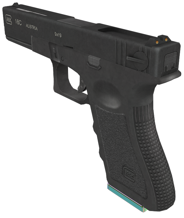 Glock 18c Skin [Early Wip]