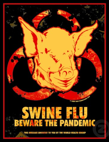 Swine Flu Blutsauger