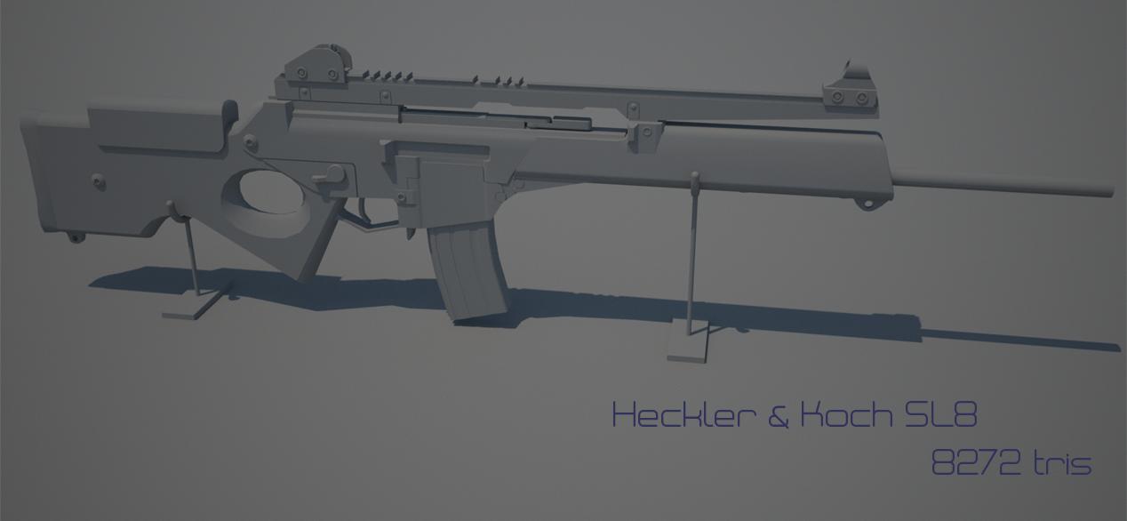 Weapon: H&K SL8