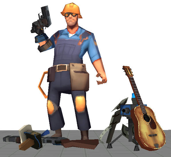 TF2 Old School Pack *Polypack