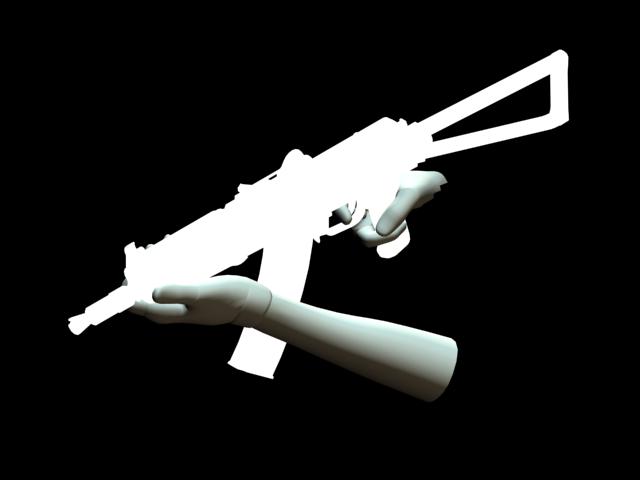 Lama's AKS-74u