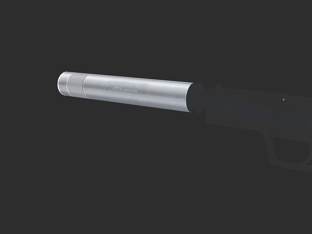 Usp- silencer almost complete