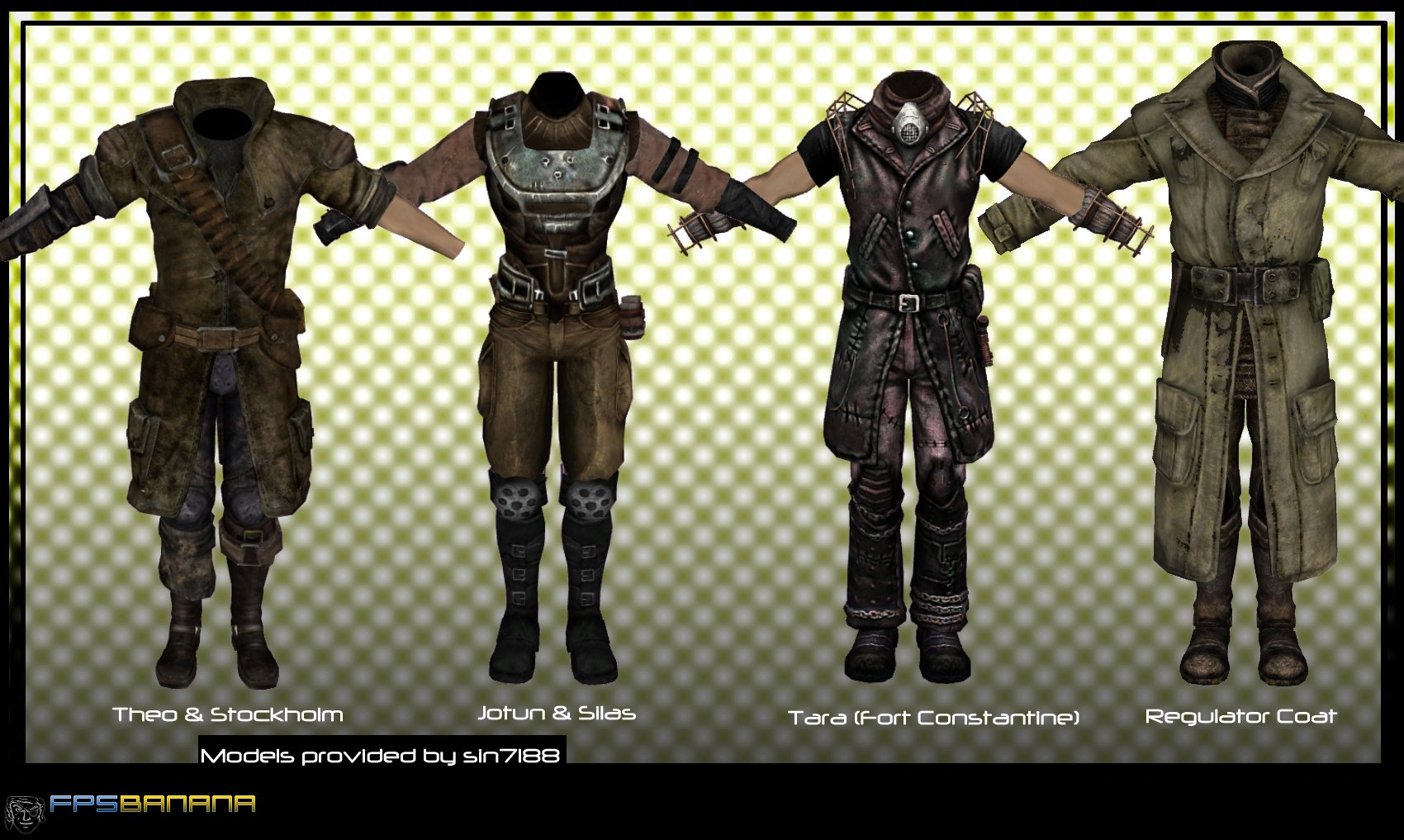 Fallout 3 armor mod gamebanana works in progress How to make your own house in fallout 3