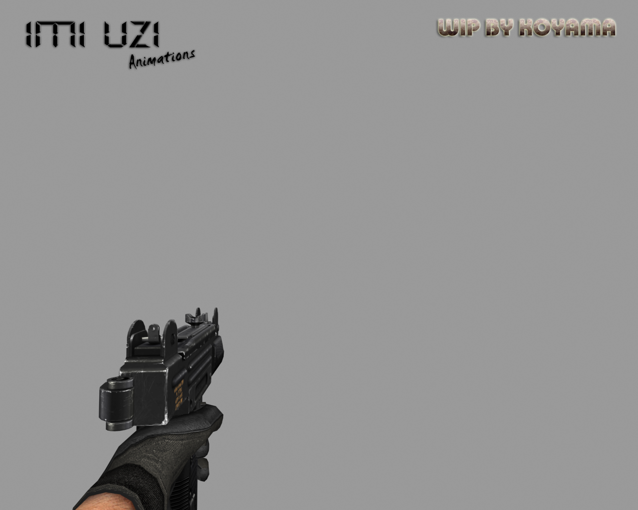 Uzi animations