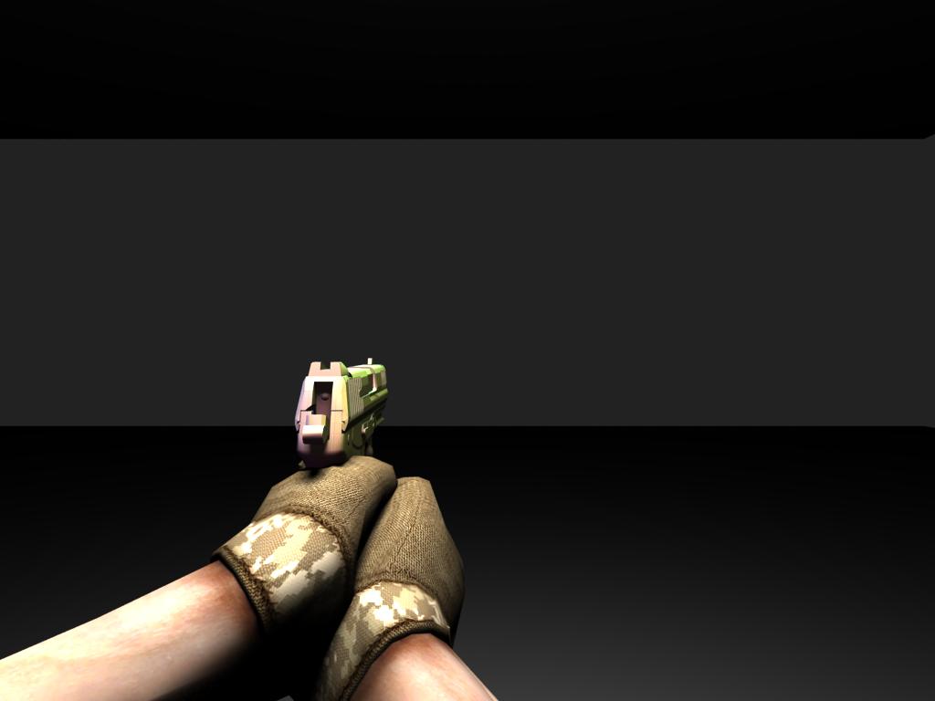 SZ animates a pistol