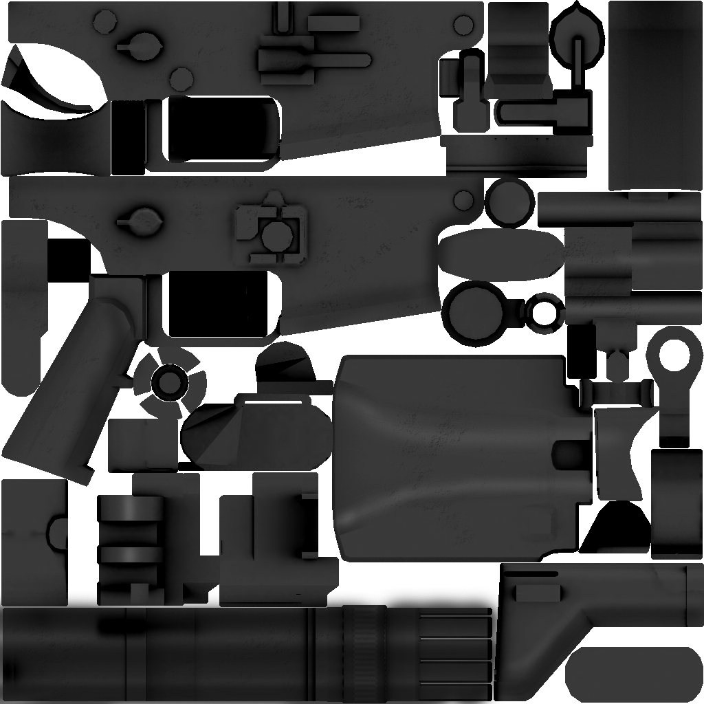 SCAR Mk.16 Texture and anims