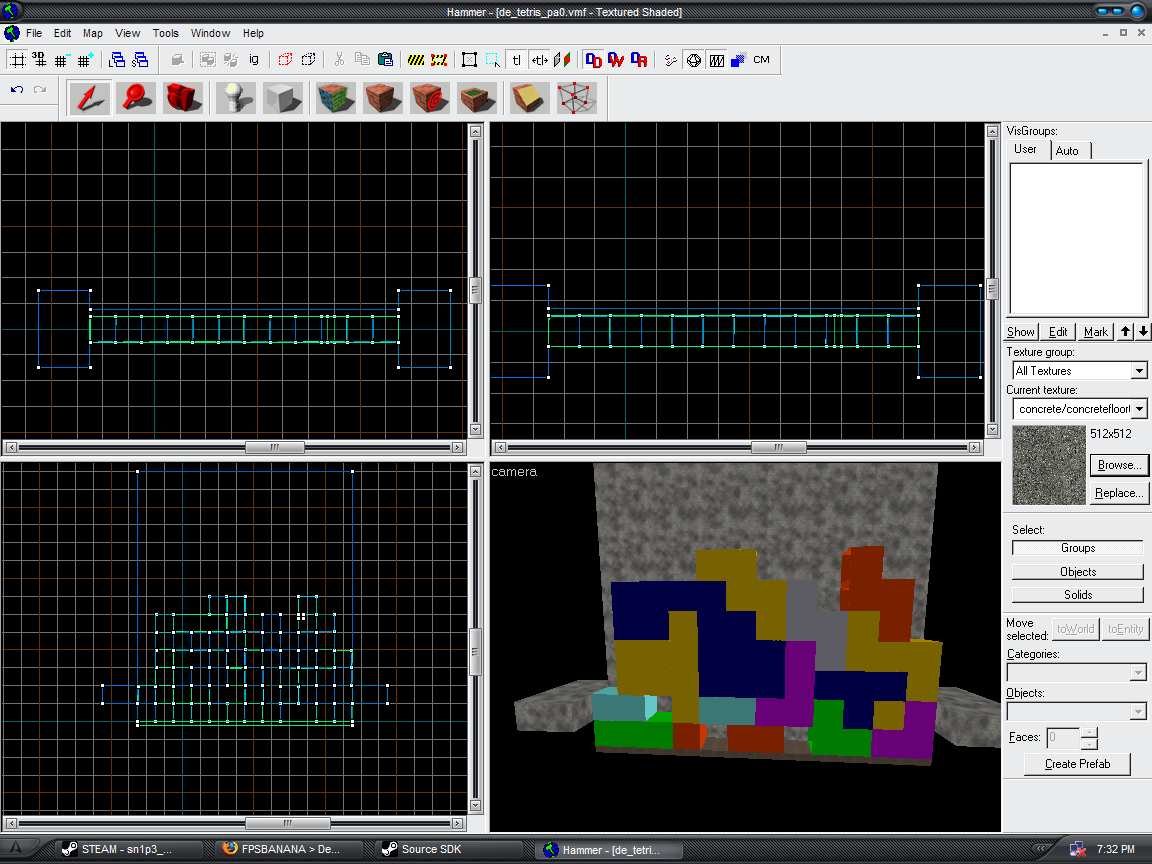 De_tetris - making progress
