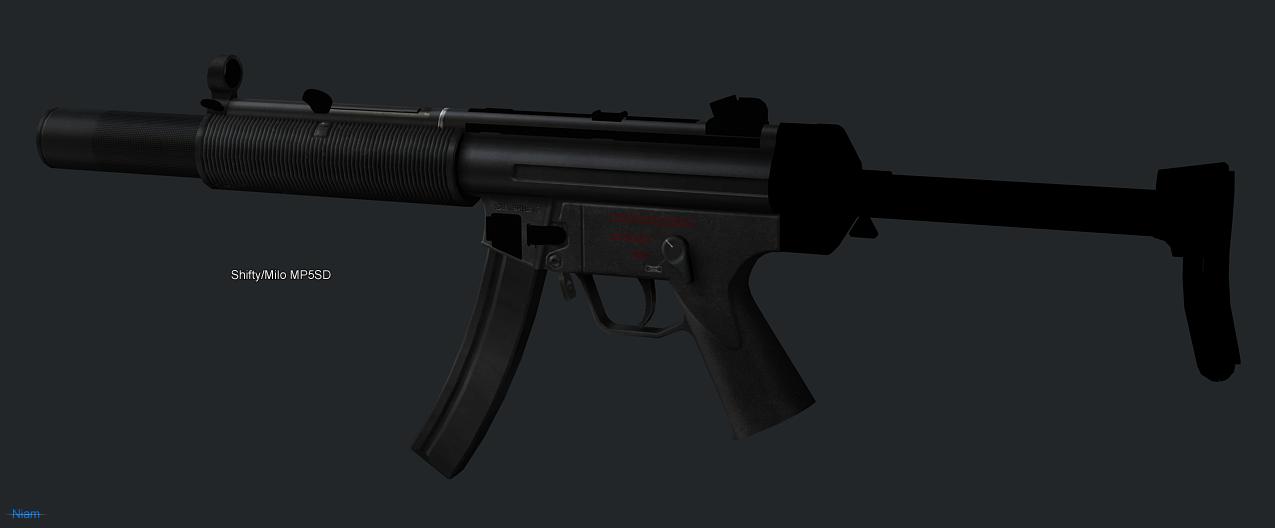 Shifty/Milo MP5SD
