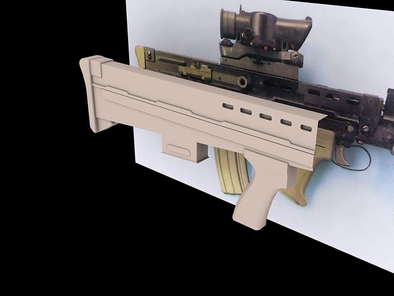 L85 carbine/RAS wip 1