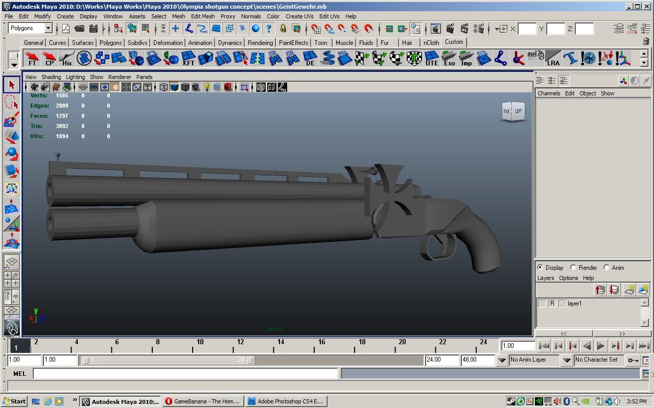 Geist Gewehr update 2 WiP screenshot #1