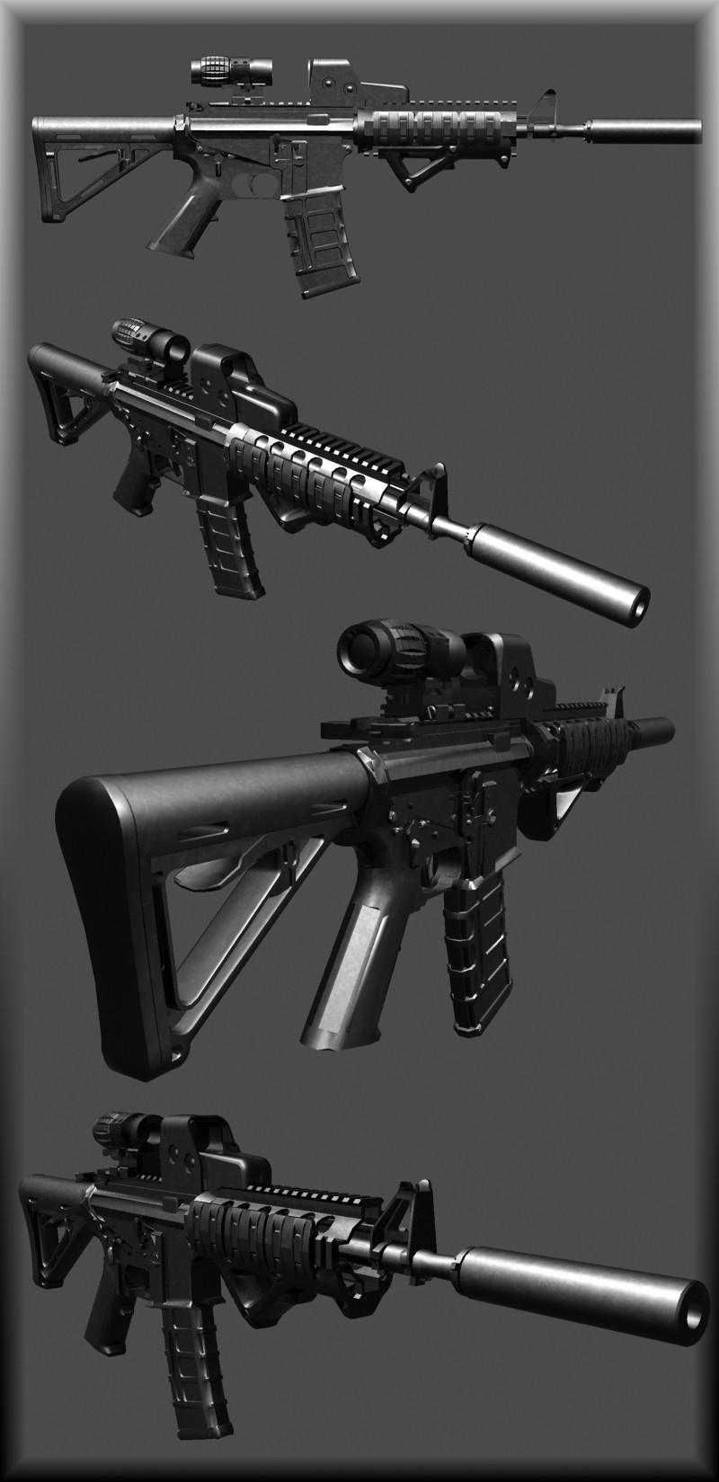 M4A1 WiP screenshot #1