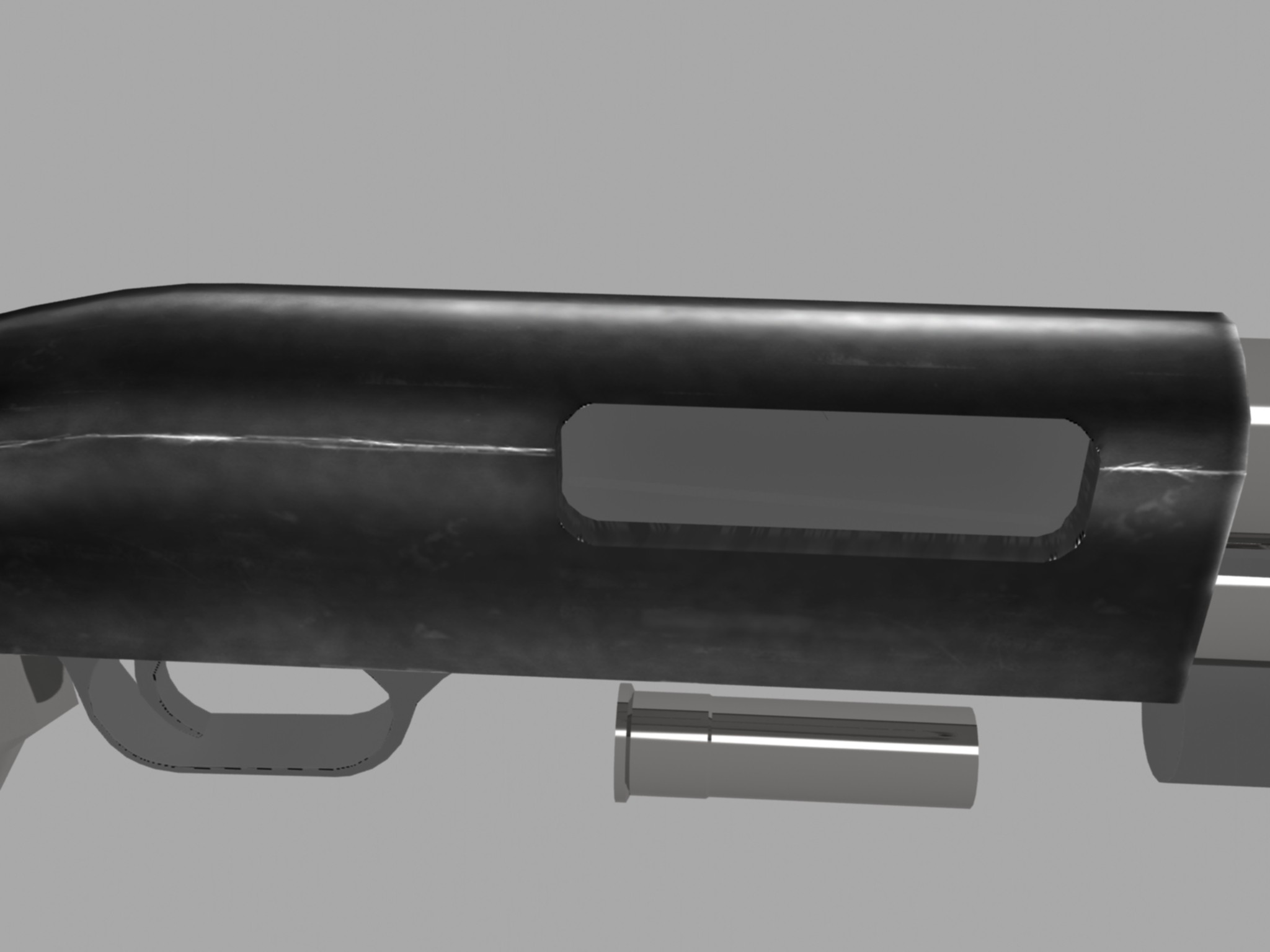 Well few hours ago i saw this beautiful shotgun lying untextured in