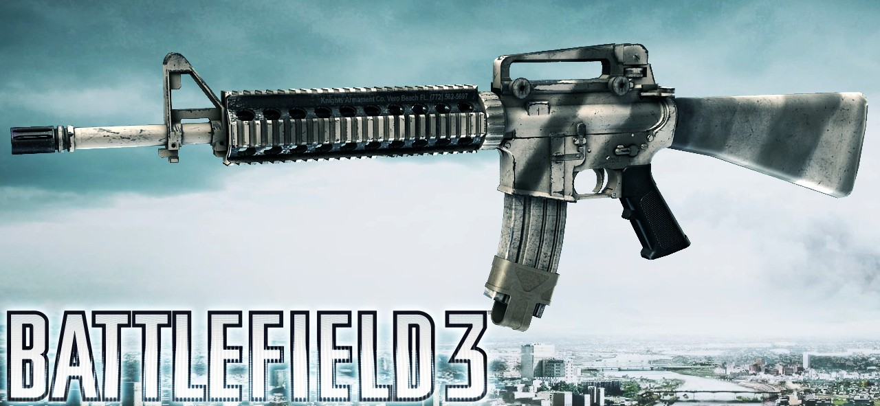BF3 M16A4 (GameBanana > WiPs > General) - GAMEBANANA M16a4 Bf3